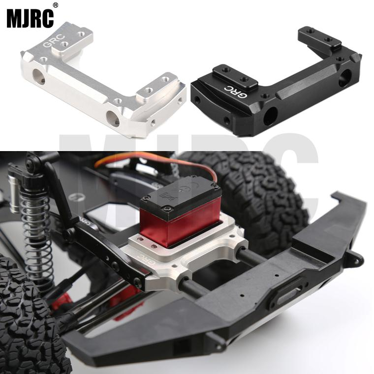 Alloy Servo Relocation Front Bumper Mount For 1/10 RC Car Axial SCX10 II 90046/47 Servo front-end