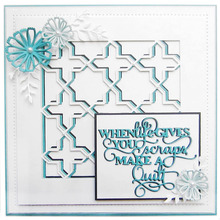 Friend Phrases Metal Cutting Dies for Card Making