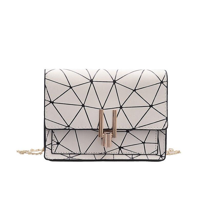 Women Fashion Shoulder Messenger Bags Ladies Geometric Plaid Crossbody Handbag Female Mini Flap Bag New Korean Style Tote SS0425 (15)