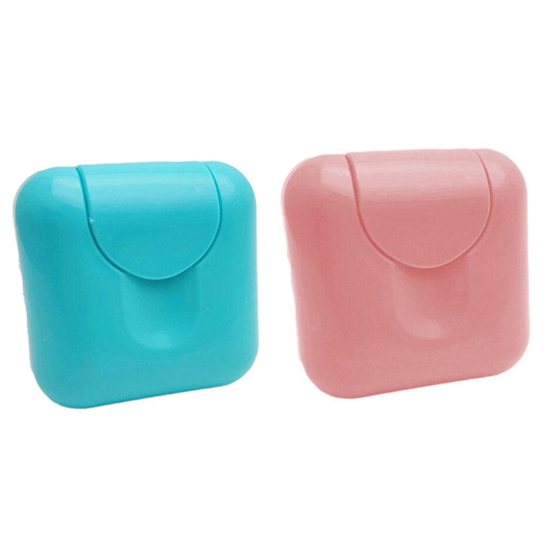 Portable Home Bathroom Shower Travel Hiking Soap Box Plate Holder Case Container