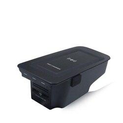 Автомобильное беспроводное зарядное устройство для volvo XC90 Новинка XC60 S90 V90 2018 2019 специальная зарядная пластина для мобильного телефона авто...