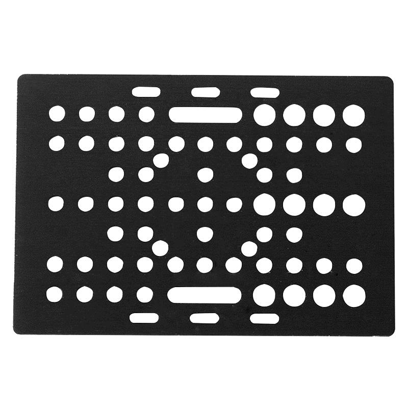 CNC Gantry Plate V Slot Universal Plate Aluminium V Slot Aluminium Linear Extrusion For Openbuilds