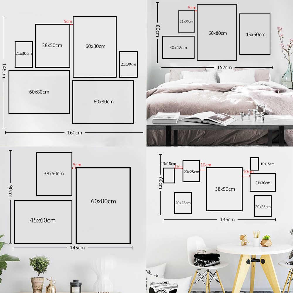 Poster HD Prints Modulaire Foto Nordic Chemie Periodieke Tafel Wall Art Canvas Schilderij Home Voor Studeerkamer Decoratie Frame