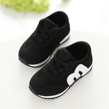 New 1-3 Years Children Shoes Boys and Girls Casual Sports Shoes Kids Sneakers Fashion Baby Toddler Shoes Little Girls Shoes cheap HUMOR RABBIT Rubber COTTON Fits true to size take your normal size Mesh (Air mesh) Lace-Up geometric Spring summer autumn