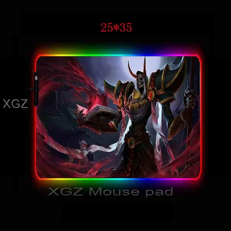 Купить mairuigee аниме демон воин на заказ большой rgb мышка с подсветкой