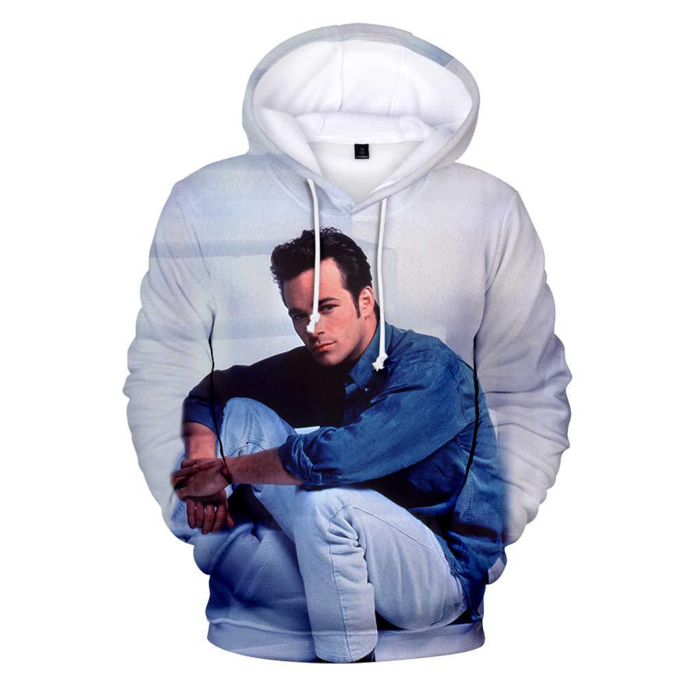 긴 소매 비벌리 힐스 90210 luke perry hoodies mannen/vrouwen 스웨터 herfst hoodies 3d 캐주얼 kleding jongens coo hoody