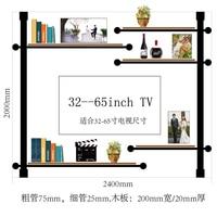 Cf2 novo design moderno metal multi camadas suporte de vinho rack de parede de design antigo tv prateleira de exibição rack de vidro de armazenamento titular de copo Bar e gabinete de vinho     -