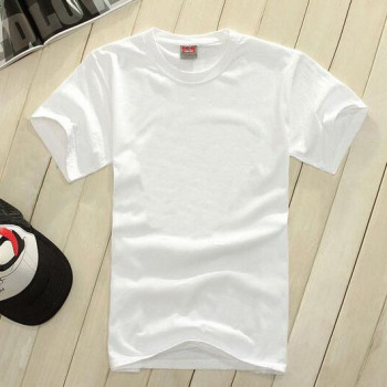 women men customized T-shirt white wholesale