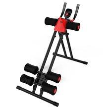 Ab Zweefvliegtuigen Trainer Rail Cruncher Abdominale Roller Smart Apparaat Afvallen Machine Machine Gym Thuis Abs Fitness Gym Apparatuur