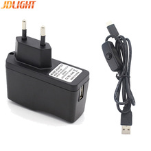 Raspberry Pi 4 USB To Type C Cable AC Power Supply 5V 3A With ON Off Switch Micro USB Cable Charger For Raspberry Pi 4B Cable
