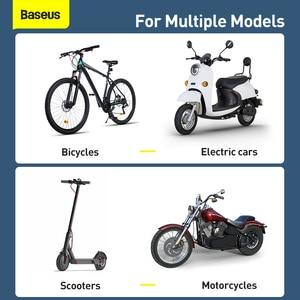 Image 5 - Baseus オートバイまたは自転車用のユニバーサル携帯電話ホルダー,iPhone用のハンドルバーマウント