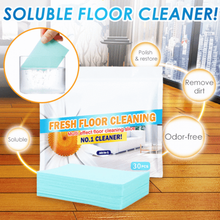 10Pcs/Set Fresh Floor Cleaning Slice