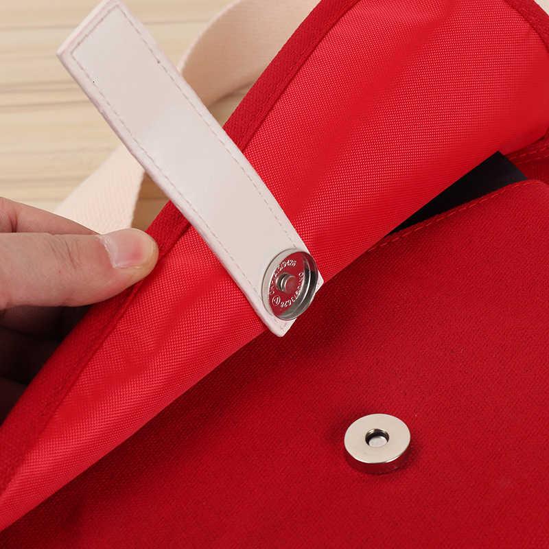 Kpop Bangtan Final Seoul Encore Field ten sam akapit pakiet Crossbody torby na ramię czerwone płótno torba makijaż moneta torebka