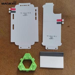 Image 2 - واقي شاشة 10d أمامي + خلفي هيدروجيل لهاتف آيفون 11 برو ماكس واقي شاشة من البولي يوريثان لهاتف آيفون X Xs Max Xr هيكل كامل نانو