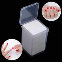 200/400Pcs Nail Polish Remover Cotton Pad UV Gel Remover Wipes Lint-Free Napkins For Cleaner Nails Super Absorbent Soft Manicure