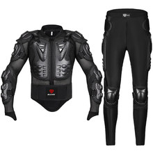 Motorcycle Jacket Pants Suit Racing Body Armor Men Protector Protective Gear Motocross Jacket Moto Motorbike Equipment Clothing