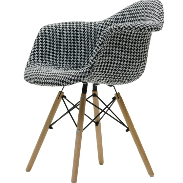 Nordic Ims Baijia Fabric Chair Soft Cloth Plastic Dining  Backrest  Simple Modern Casual Coffee