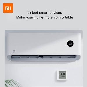 Image 5 - شاومي الذكية الرقمية ميزان الحرارة 2 Mijia بلوتوث درجة الحرارة الرطوبة الاستشعار الرطوبة متر شاشة LCD Mijia mi المنزل App