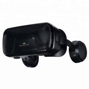 Image 4 - PINZHENG gafas 3D VR para casco, gafas de realidad Virtual, auriculares VR para IOS, Android, teléfono inteligente, vídeo de PC, juego, gafas de cartón