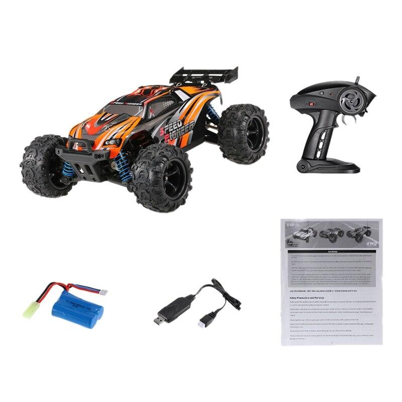 9302X RC Car 1/18 4WD 2.4G 50 KM/H High Speed RC Car Remote Control Truck Toys Brushless Desert Crawler Car Vehicle