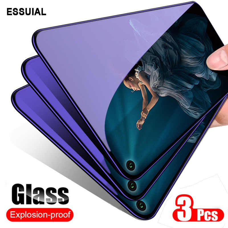 3Pcs Glass For Huawei Honor 20 Pro 8X 8S 9 10 Mate 10 20 Lite 9H Screen Protector Glass For Honor 8X 9 20i 10i Protective Glass