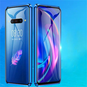 Image 3 - For Nubia Z20 Smartphone Aluminum Metal Bumper & 9H Tempered Glass Magnet Phone Case Protective Cover for ZTE Nubia Z20 Phone