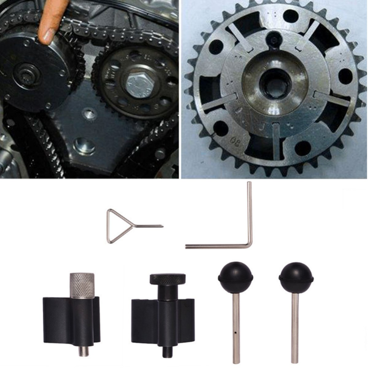 Audi A2 1.2 1.4 TDI PD VAG Diesel Engine Crank Crankshaft Timing Lock Tool Set