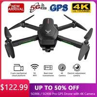 Drone SG906 / SG906 Pro 2 GPS con videocamera 4K 5G Wifi 3 assi giunto cardanico Brushless FPV HD Drone RC Quadcopter 25 minuti tempo di volo Dron