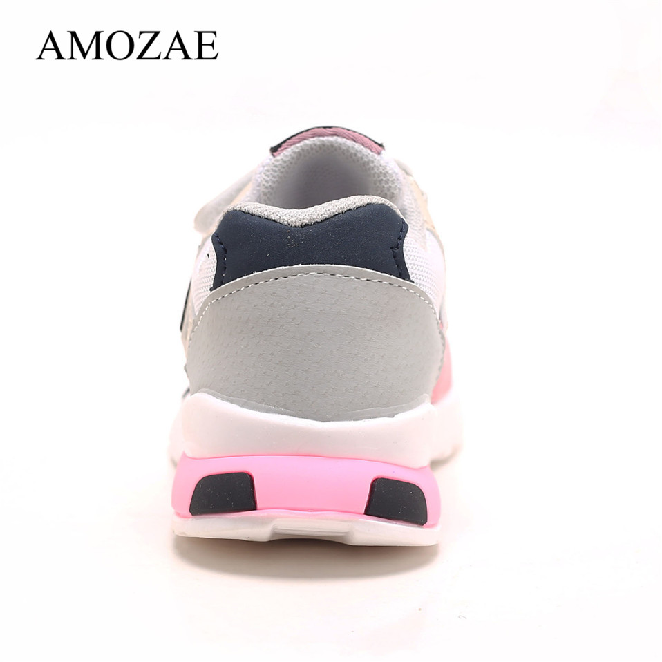 Spring Autumn Kids Shoes Baby Boys Girls Children's Casual Sneakers Breathable Soft Anti-Slip Running Sports Shoes Size 21-30 6