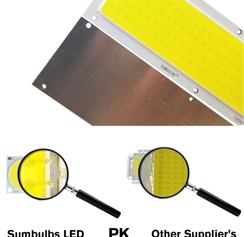 DC12V COB LED Strip Light Source 5W 10W 20W 50W 200W 300W LED Bulb White Blue Red Flip Chip COB Lamp DIY House Car Lighting 12V (19)