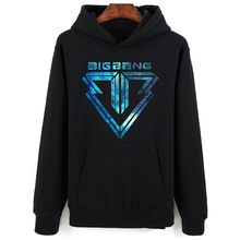 Bigbang LOGO Print Hoodies Men Women Casual Hoodie Gdragon Return Fans Must Hoodies Fashion Harajuku Pullover Autumn Sweatshirts(China)