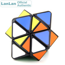 LanLan 4 Axis 8 Surface Wolf Tooth Star Magic Cube Professional Neo Speed Puzzle Antistress Fidget Educational Toys For Children