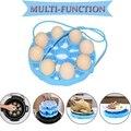 Горячее предложение! силиконовая подставка для пароварки яиц  аксессуары для кастрюль  скороварки  слинг вмещает 9 яиц на 5/6  8 квартов