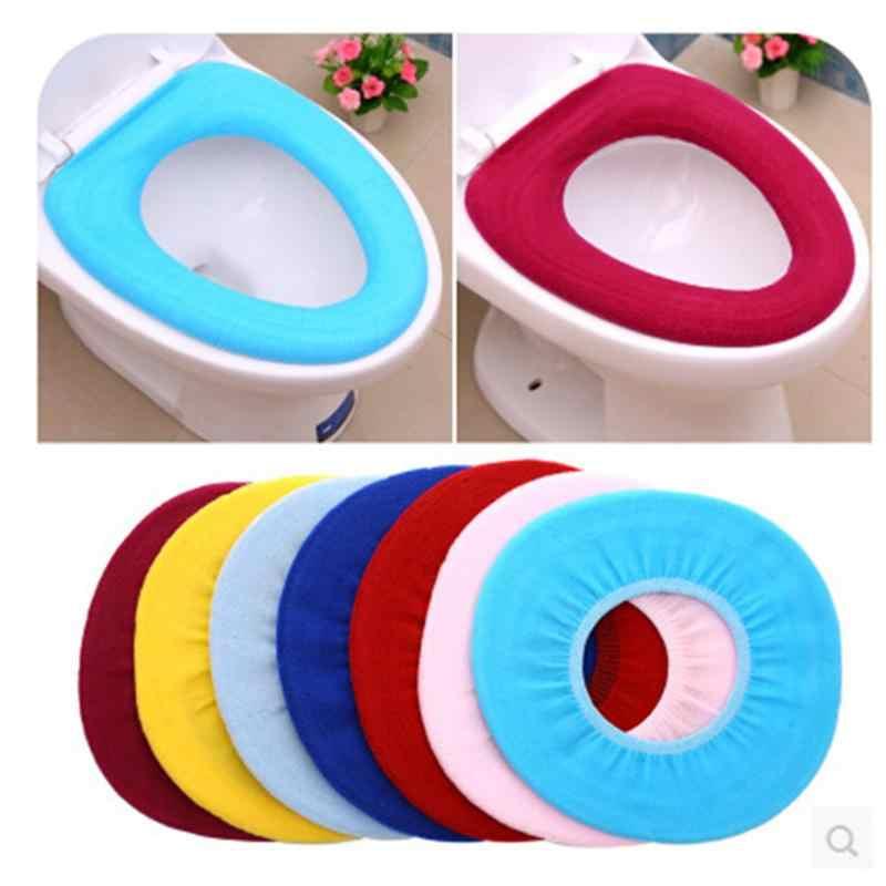 Caso do assento do banheiro mais quente tapete wc capa de assento macio confortável bebê potty seat overcoat wc lavável