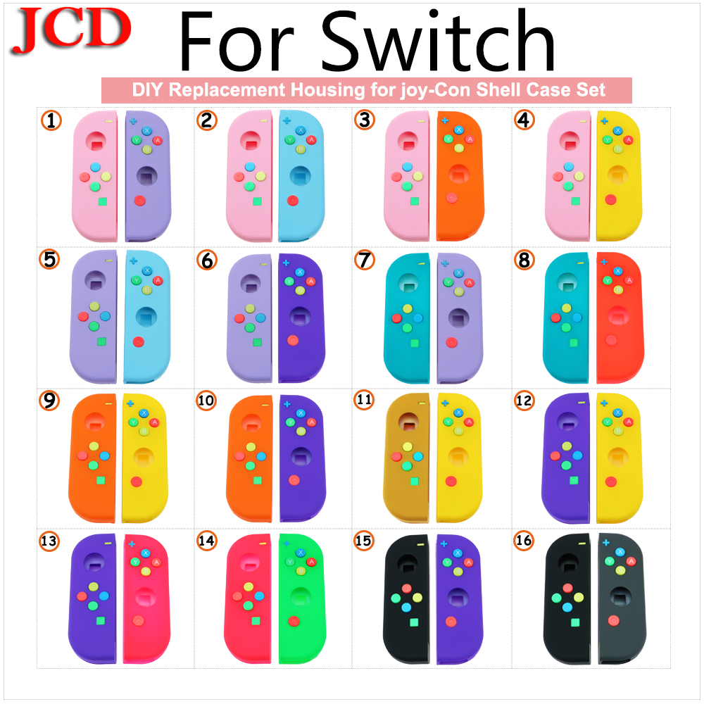 JCD New DIY Housing for joy-Con Shell Case Set for Switch NS NX Console for Switch Replacement Controller Shell  for Nintend