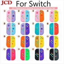 JCD جديد لتقوم بها بنفسك الإسكان ل joy Con شل مجموعة ل التبديل NS NX وحدة التحكم للتبديل استبدال تحكم قذيفة ل نينتندو d