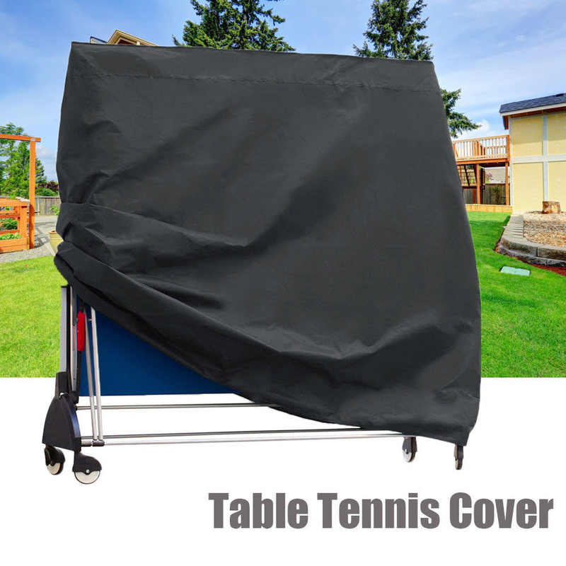 165x70x185cm Waterproof Ping Pong Table Storage Table Tennis Sheet Desk Cover