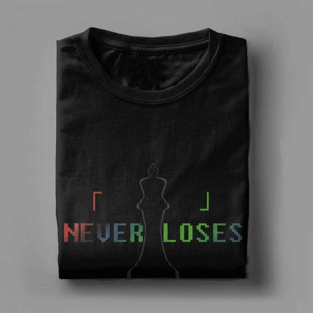 Geen Game Geen Leven Tee Shirt Blanco Nooit Verliest T Shirts Mannen 100% Katoen Humoristische T-shirt O Hals Met Korte Mouwen tops Print Streetwear