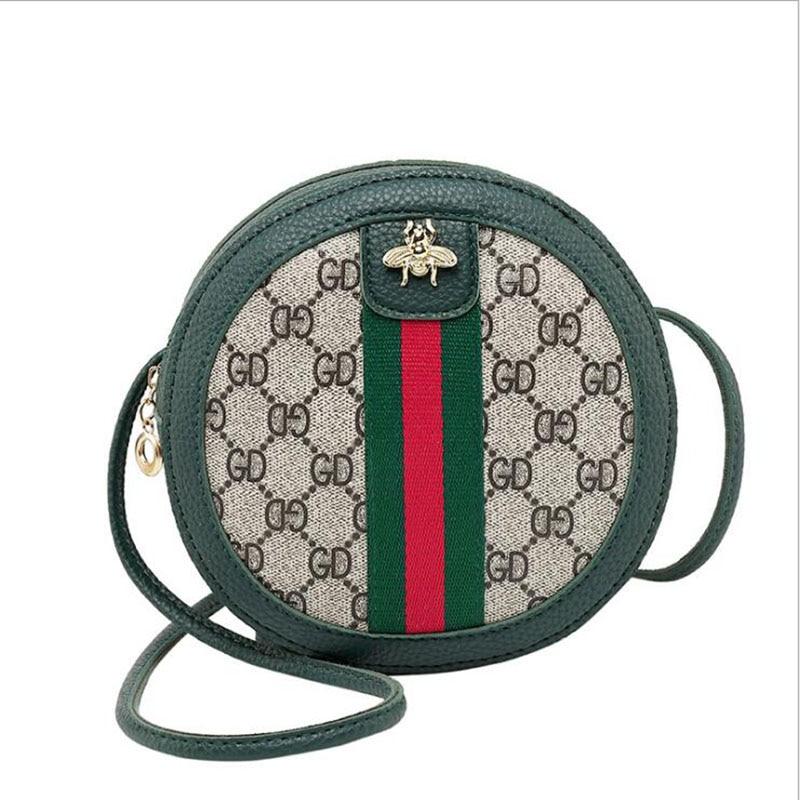 Women Bags Crossbody-Bags Round Designer Mini Messenger Girls