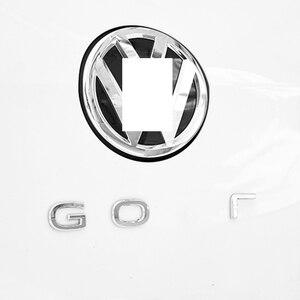 Задний багажник новый логотип гольф эмблемы наклейки для VW Golf 7 7,5 MK7 Гольф 8 MK8 аксессуары 2015 2016 2017 2018 2019 2020 2021 Наклейки на автомобиль      АлиЭкспресс