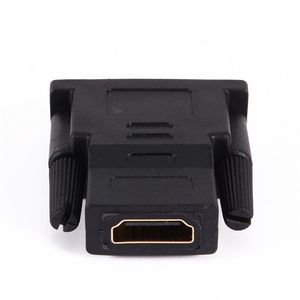 Image 3 - DVI 24+1 Convert Gold Plated Male to HDMI Female 1080P HDTV Adapter Converter