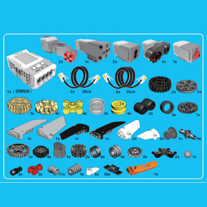 Image 5 - EV3 EV6 Compatible logoinglys 45544 Science education Building Block Robot creative programming intelligent APP Program Toy gifs