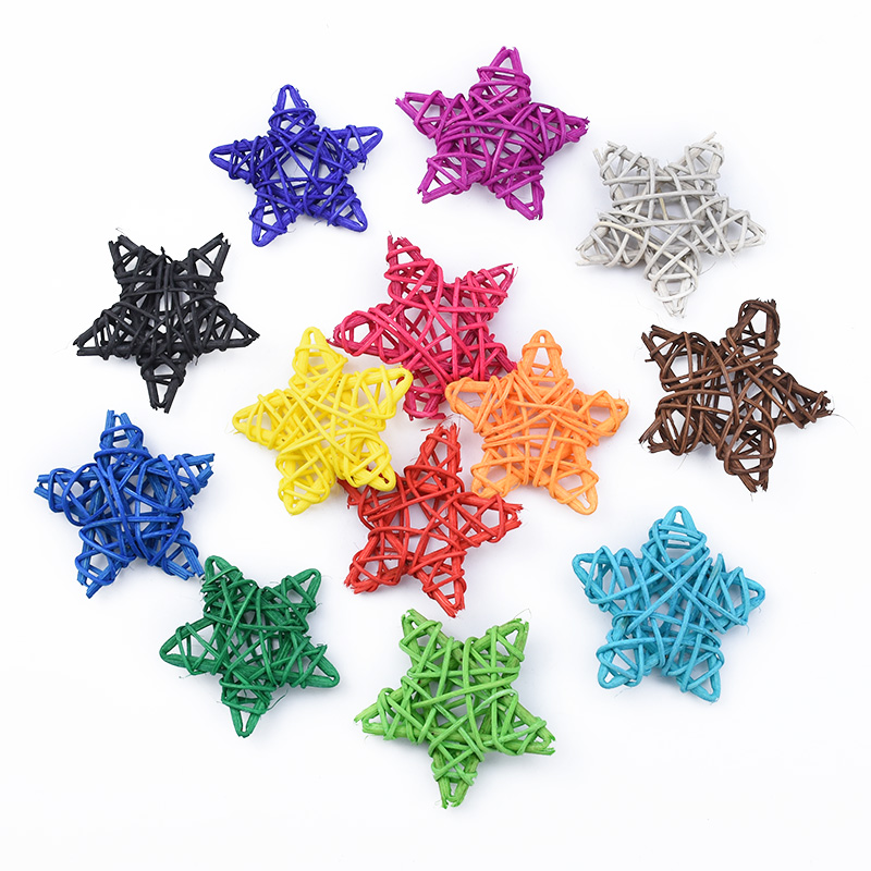 10pcs rattan star Straw wedding bridal accessories clearance christmas decorations for home Festival Supplies artificial plants|Wreaths & Garlands| - AliExpress