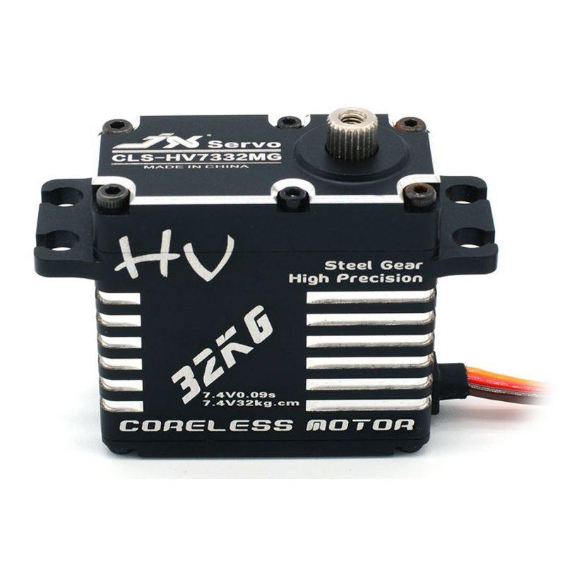 Servo numérique sans brosse numérique de vitesse en acier à haute tension de la CLS-HV73 32MG de JX