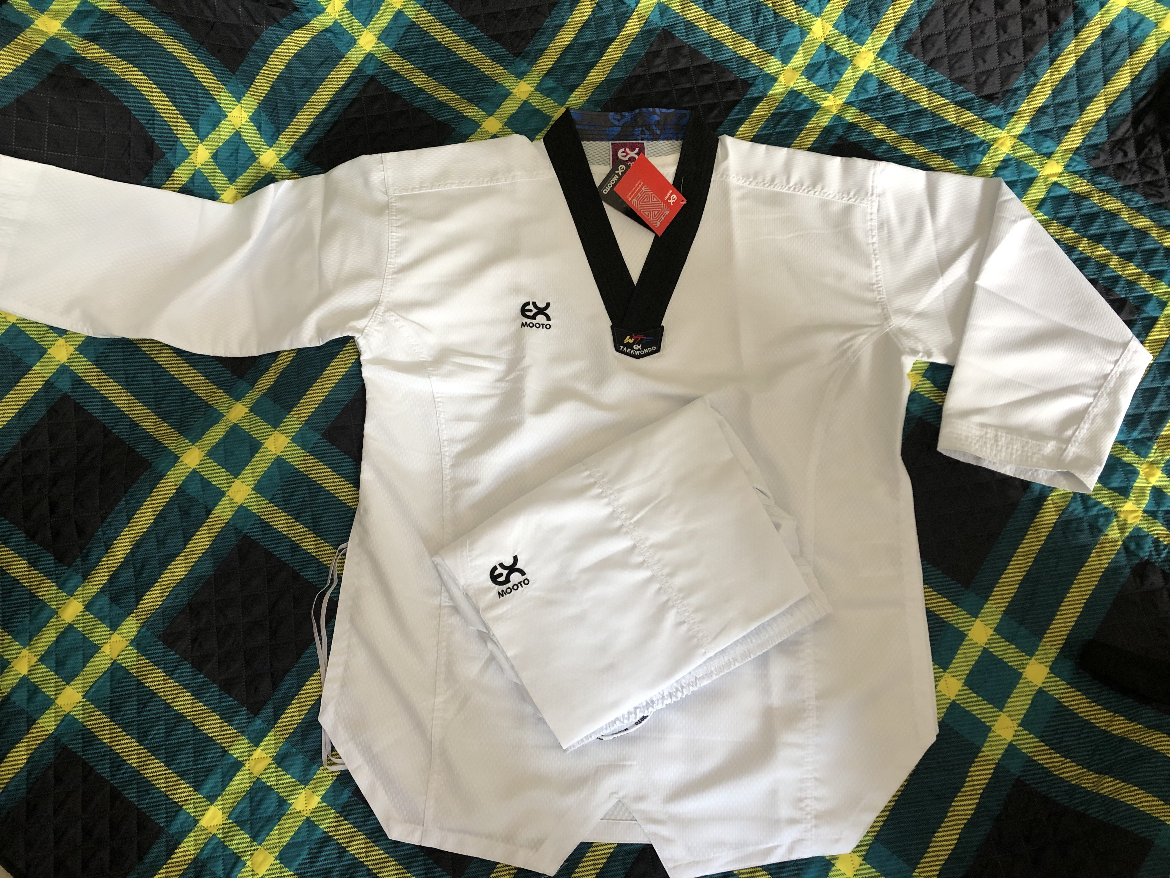 EX MOOTO EXTREA S5 Professional Sparring  Taekwondo uniforms Lighter Softer Faster uniform Children Adult MOOTO Taekwondo suit