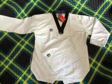 EX MOOTO EXTREA S5 Professionelle Sparring Taekwondo uniformen Leichter Weicher Schneller einheitliche Kinder Erwachsene MOOTO Taekwondo anzug