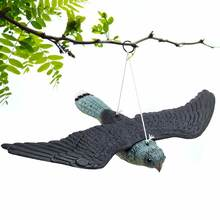 Скульптура для защиты от вредителей Летающий ястреб садовая