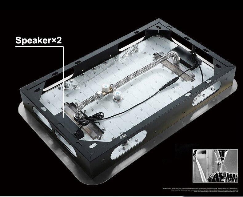 H0ad1e16446b54a96810faaf42963abf2S M Boenn Music Shower System Rain ShowerHeads LED Shower Set Bathroom Faucet Thermostatic Valve Matte Black/Chrome Bath Mixer Tap