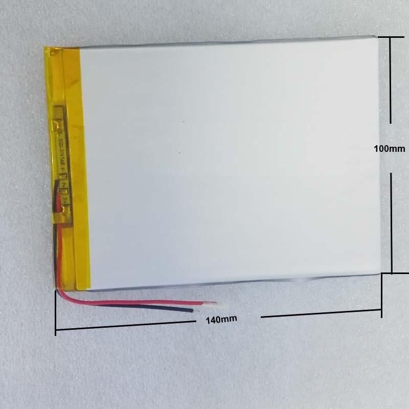 33100140 Universal Battery For Digma Optima 10.6 3G TT1006MG / Irbis Tz172 Tablet Battery Inner 6000mah 3.7V Polymer Li-ion