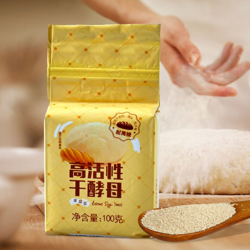 100g Bread Yeast Active Dry Yeast High Sugar Tolerant Yeast Baking Supplies